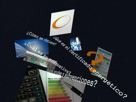 Preguntas en certificación energética