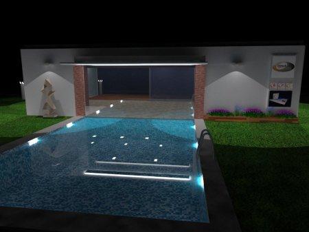 Infoarquitectura 3D de exteriores